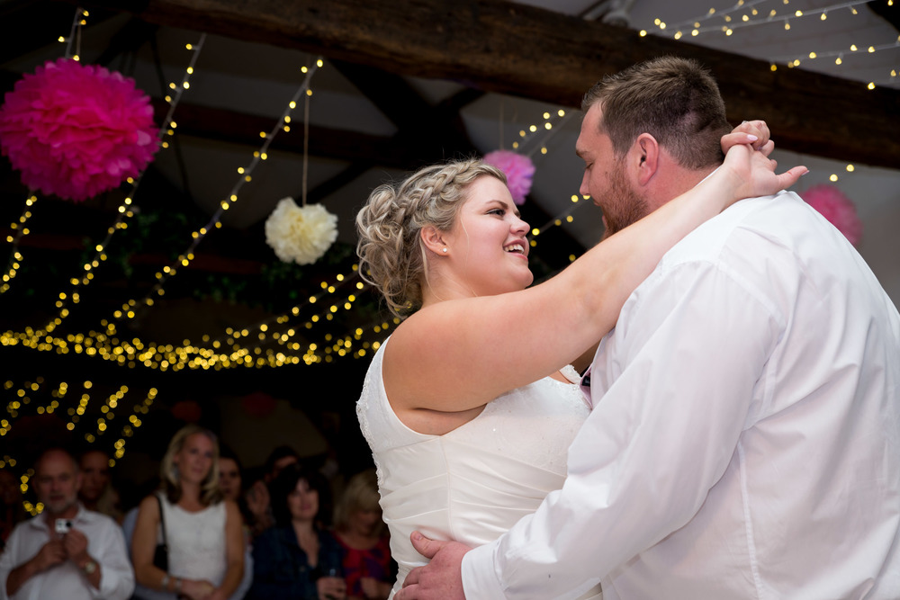 First Dance At Muddifords Court Country House
