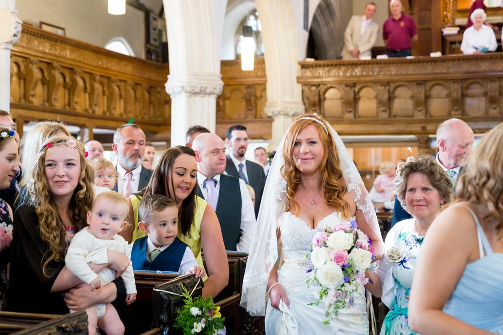 Sanford Church Wedding Bride's Entrance
