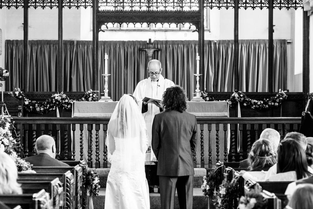 Sanford Church Wedding Ceremony