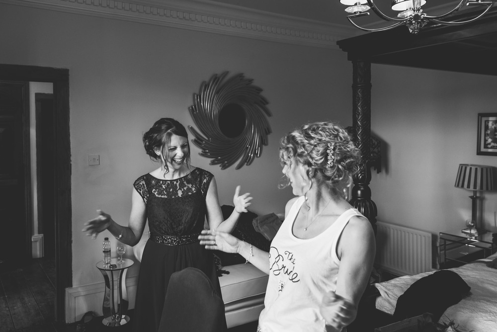 Devon Wedding Photography At Muddifords Court 1