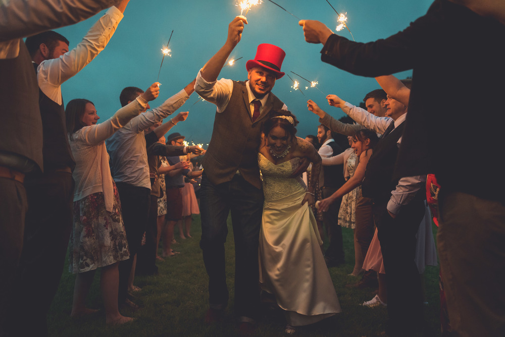 Froginwell Cider Barn Wedding, Lou and Martin
