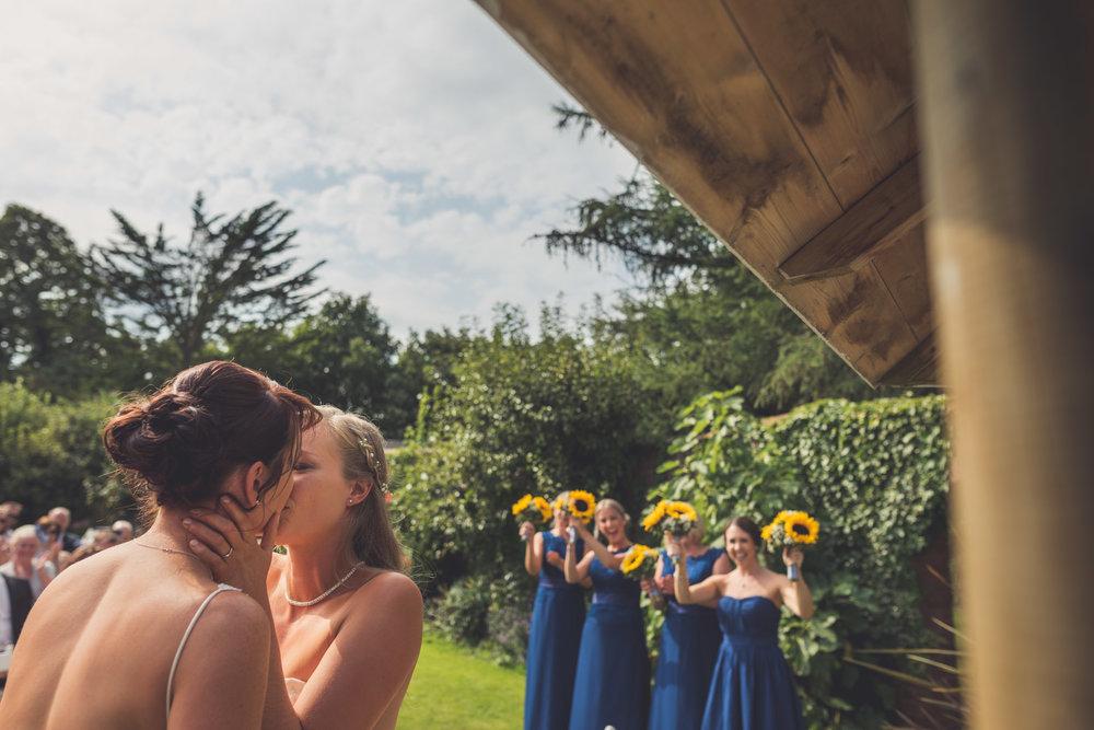 Devon wedding photography, Helen & Sammy