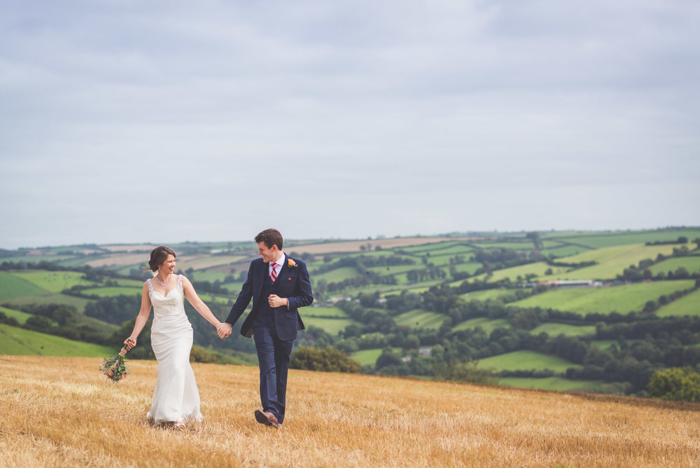 Wedding photography, near Broomhill Hotel, Clare & Matt
