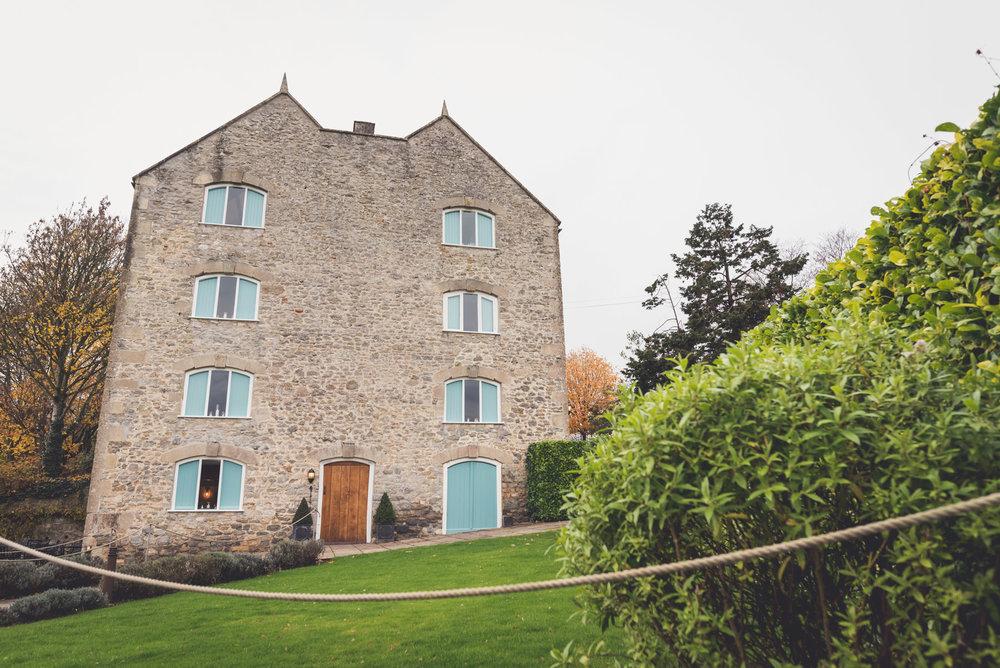 Wedding photography at Priston Mill near Bath