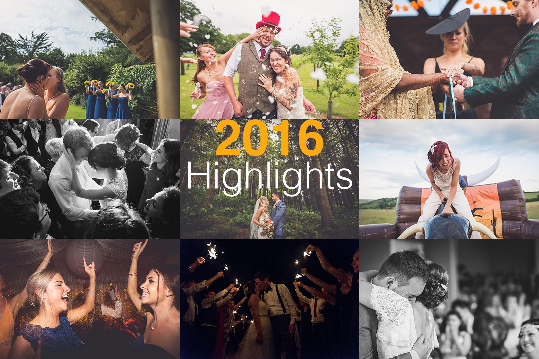 Wedding photography, highlights of 2016