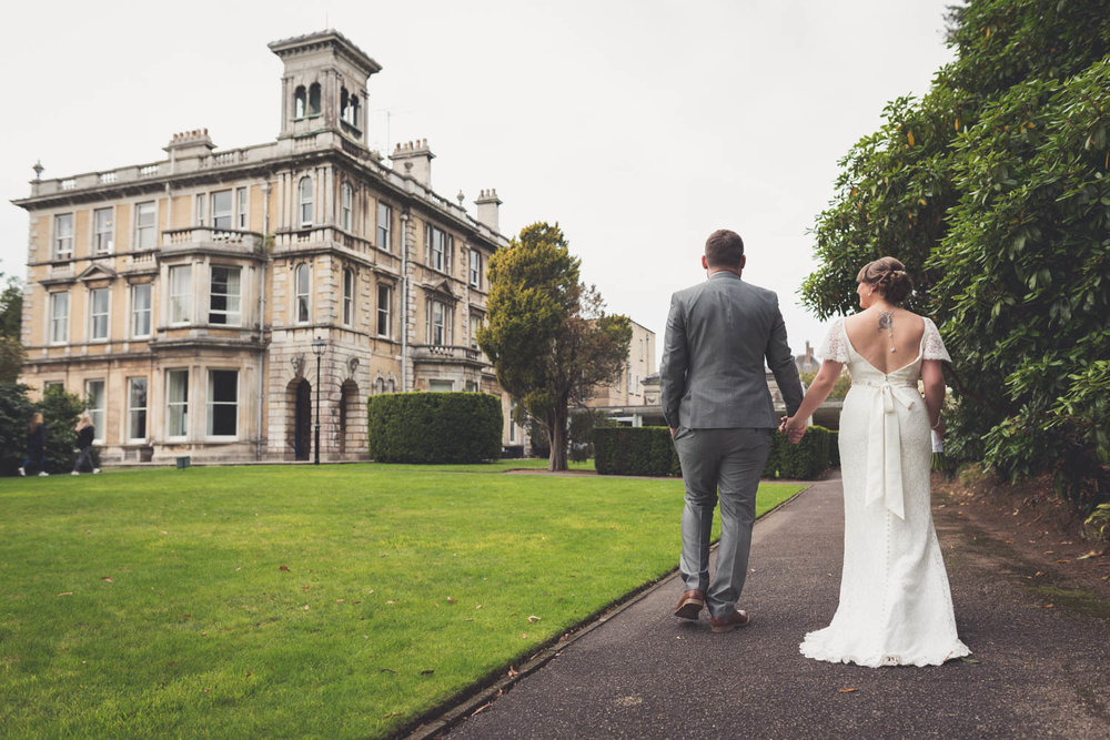 Wedding photography at Reed Hall, Exeter, Devon