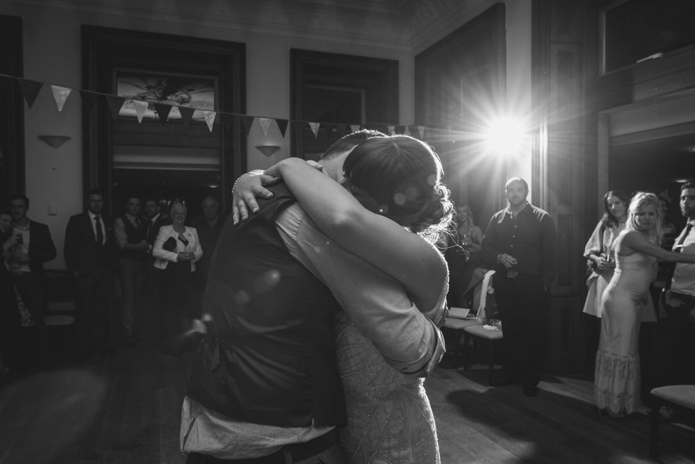 Reed Hall first dance