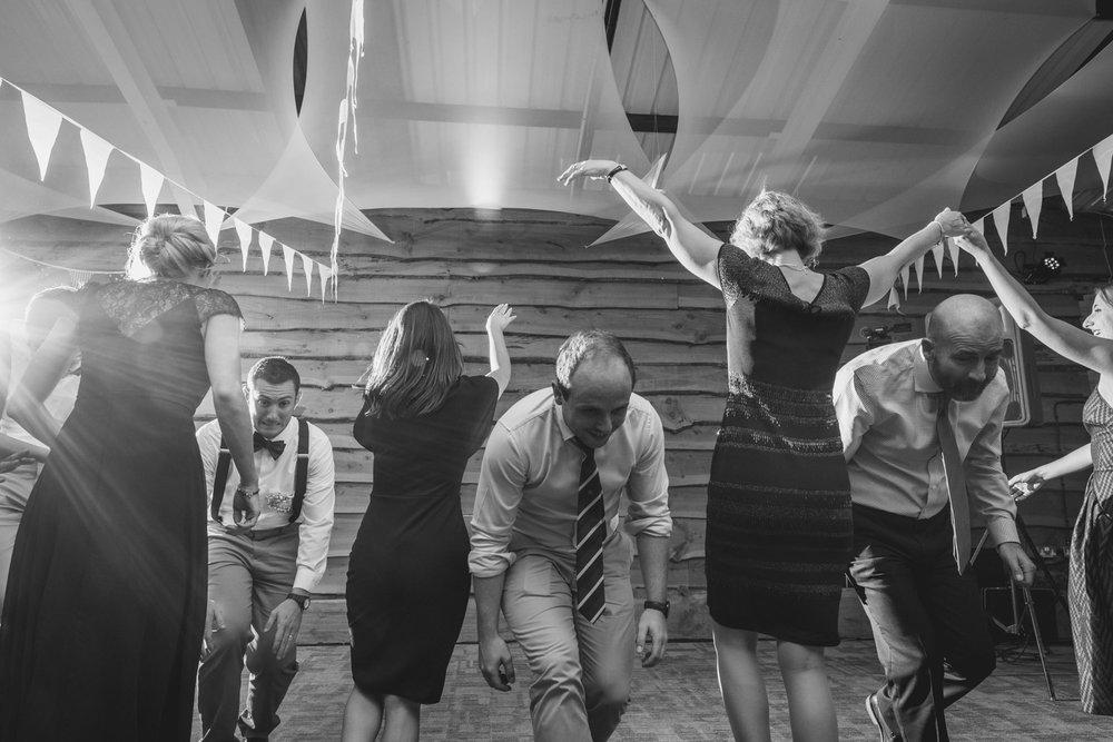Wedding county dancing