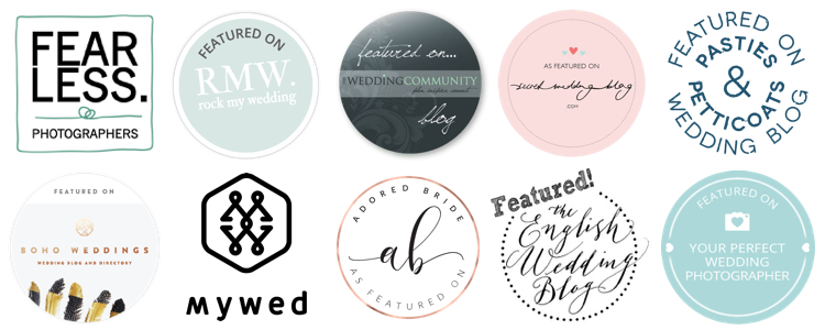 Devon wedding badges