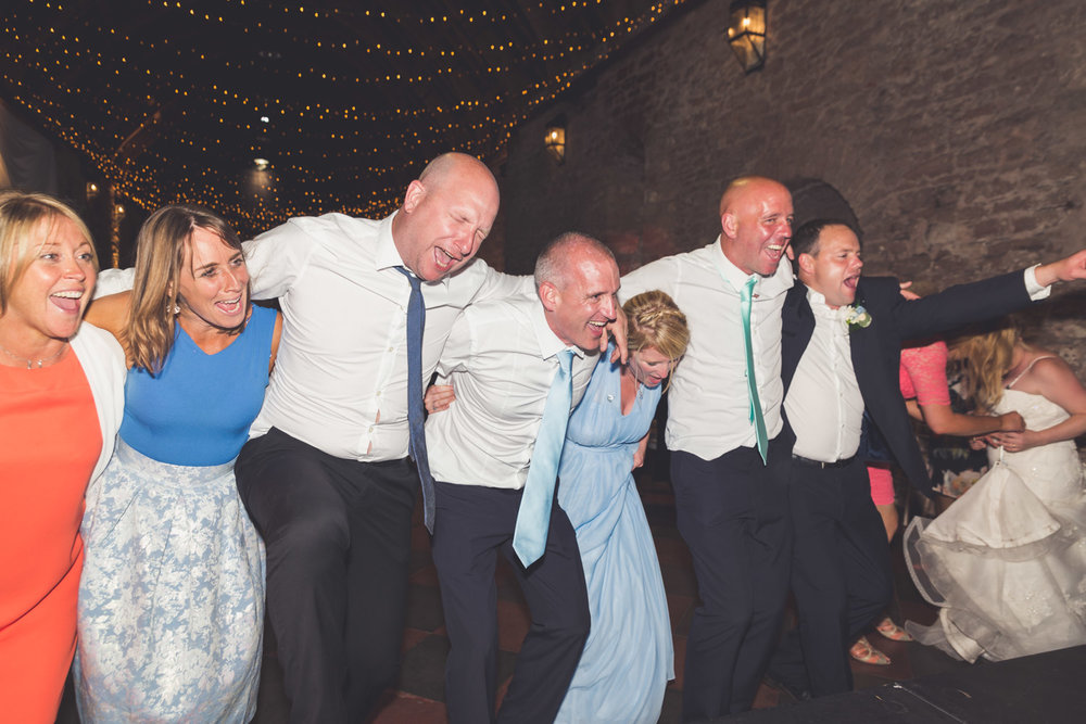 Crazy dance at Torre Abbey