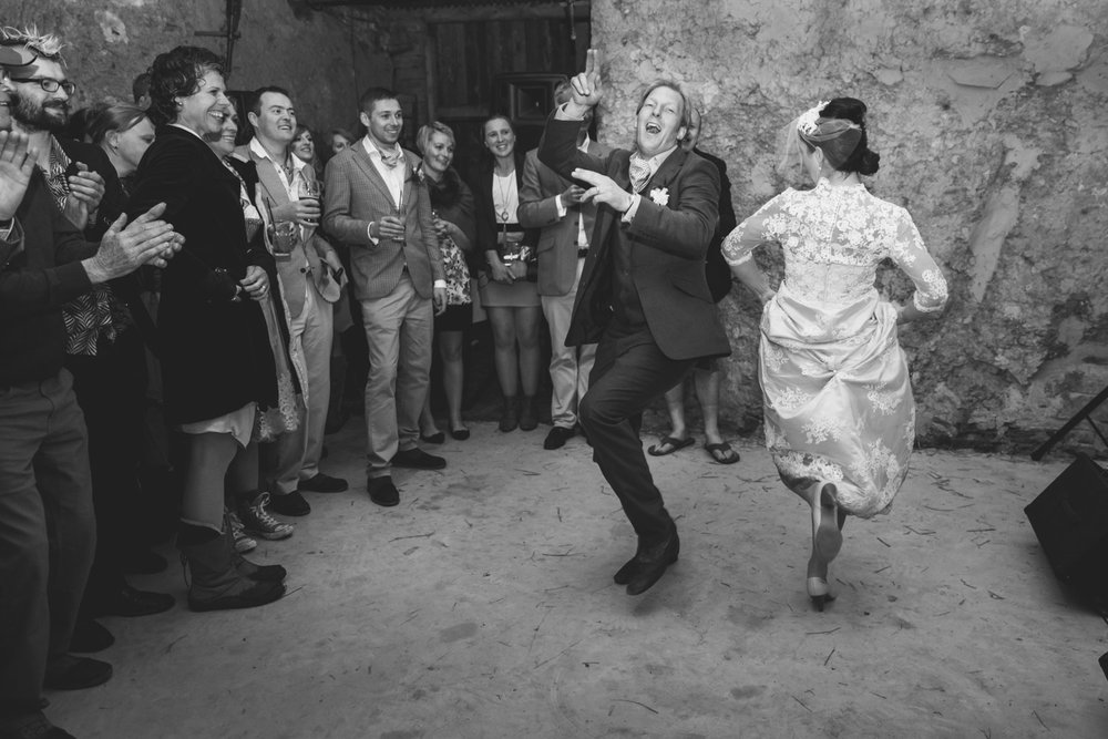 Fun dance at Higher Eggbeer
