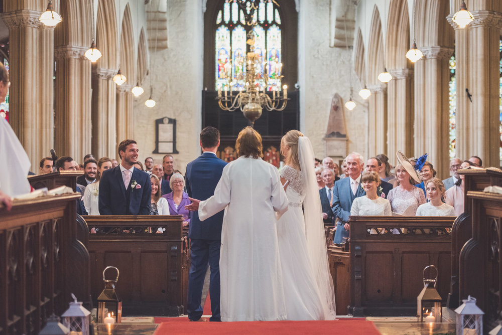 Addressing the church
