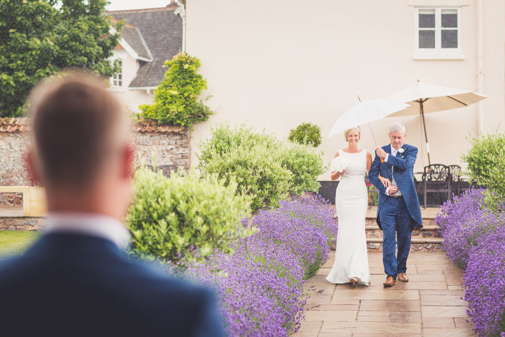 Walking the aisle at Upton Barn