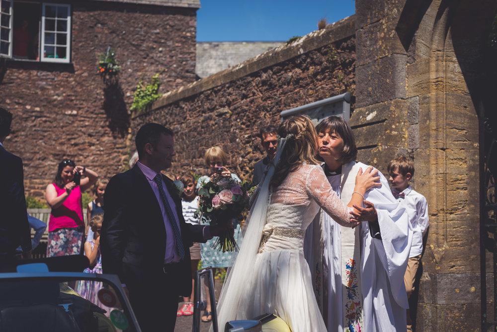Kissing the vicar