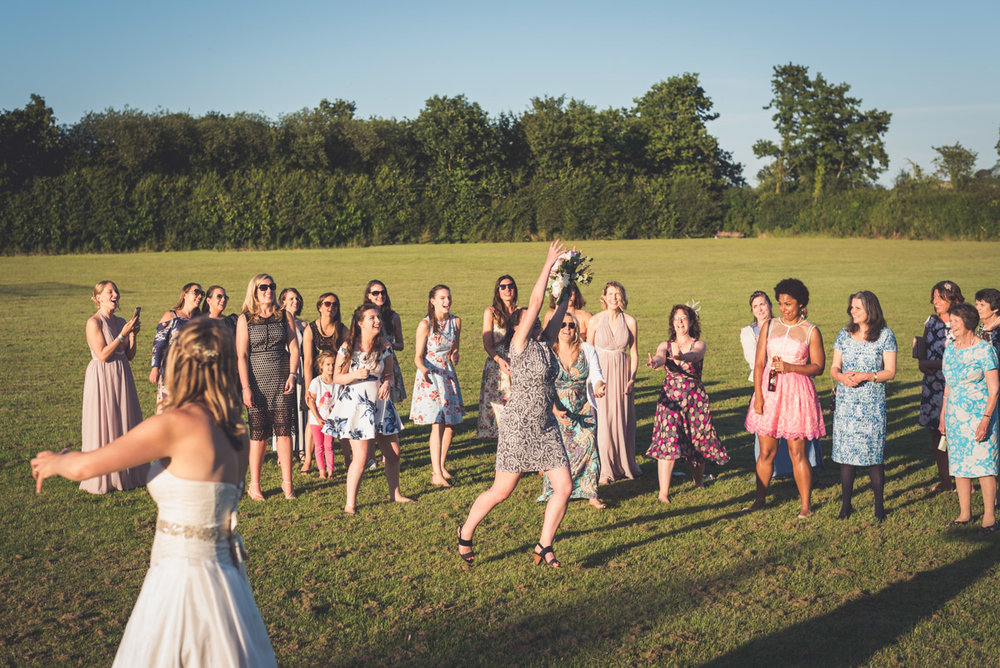 Throwing the bouquet 3