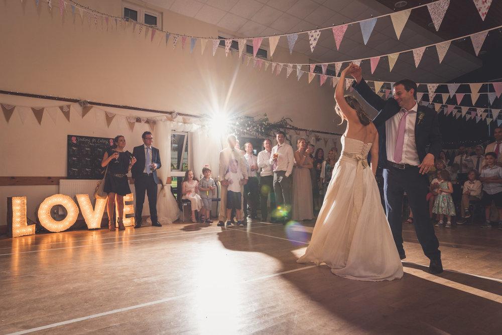 Spinning first dance