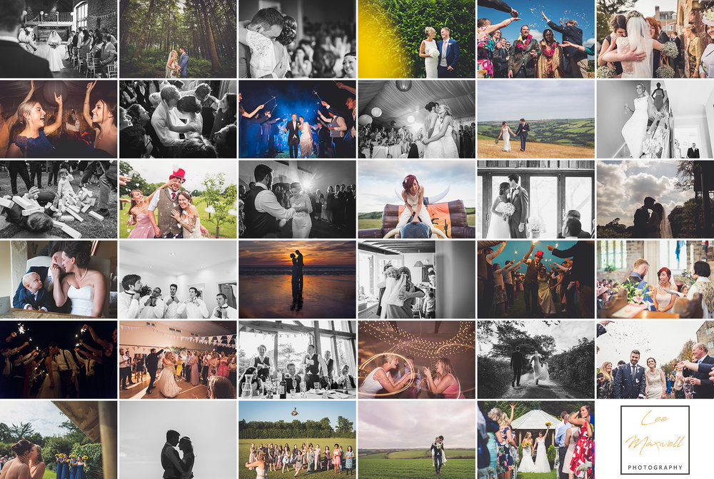 A sample of images from the last three years of wedding photography. This is a great job to have!