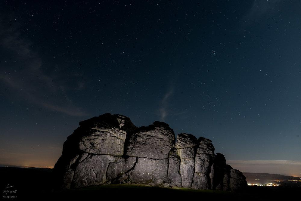 Haytor astrophotography