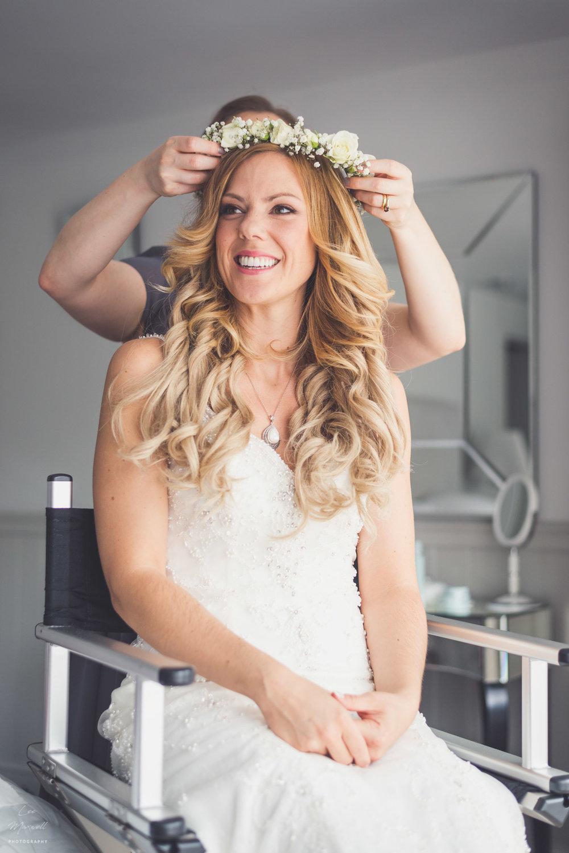 Bridal head dress