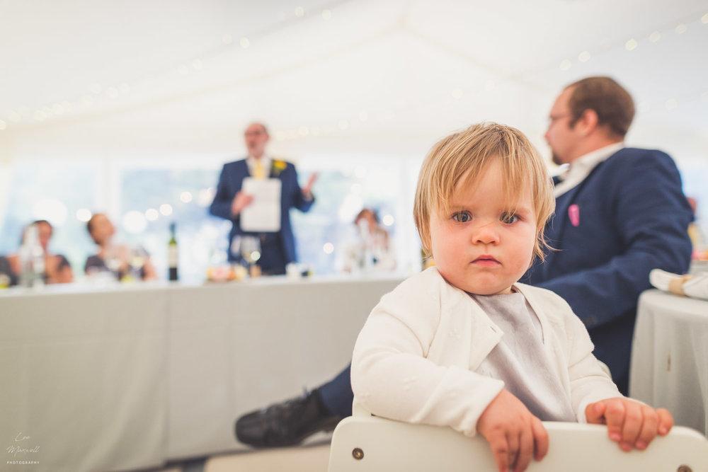 Baby at speeches