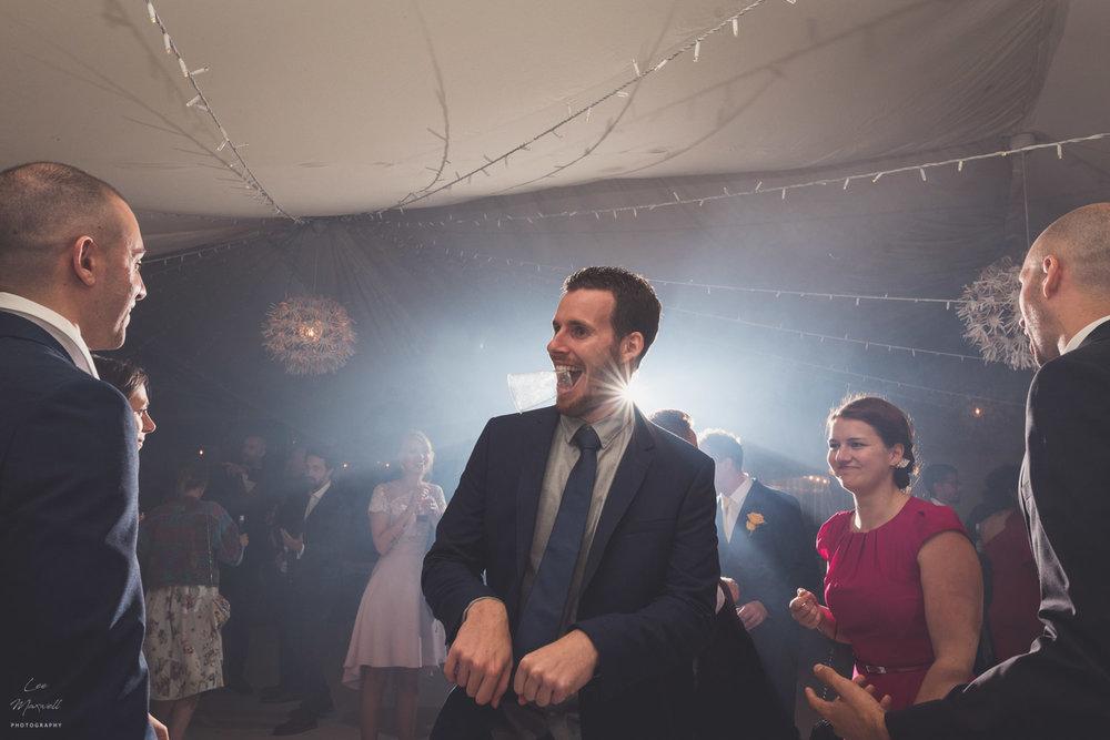 Funny dancing