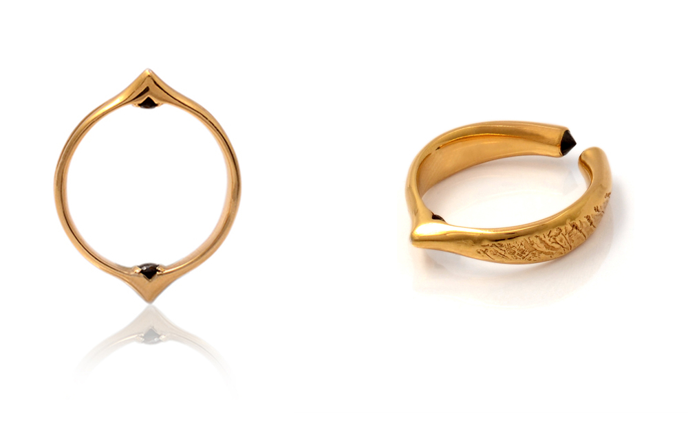 Moro Collection Rings in FairTrade Gold