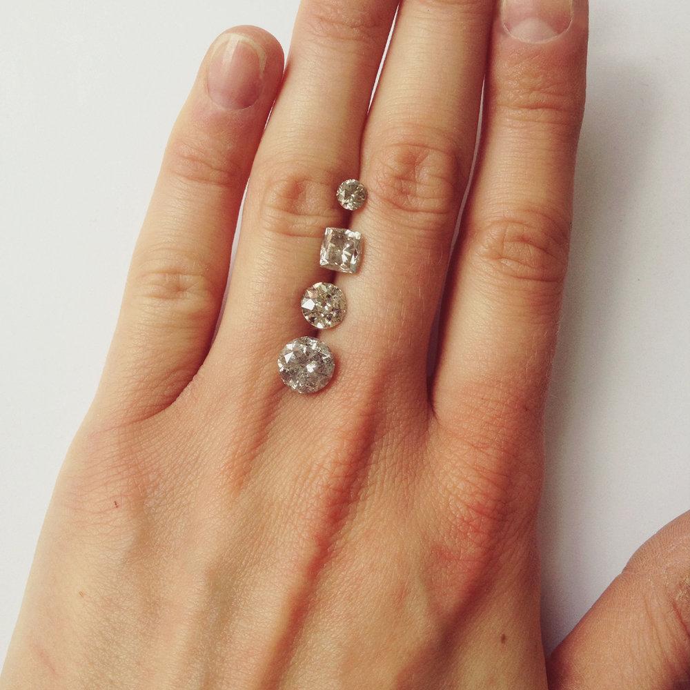 Bespoke Diamond Engagement Ring from FERA Jewellery