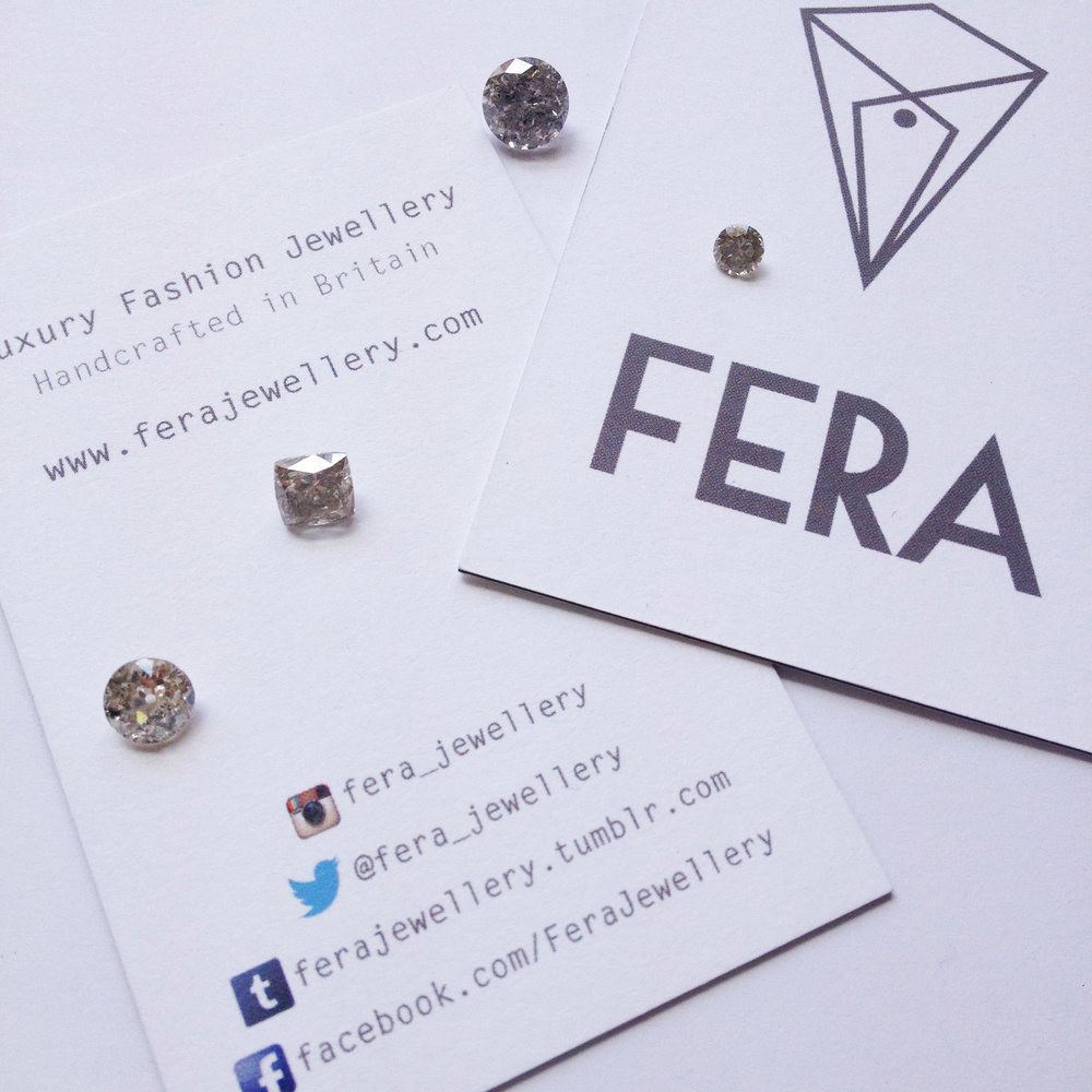 unique diamond engagement ring by FERA Jewellery