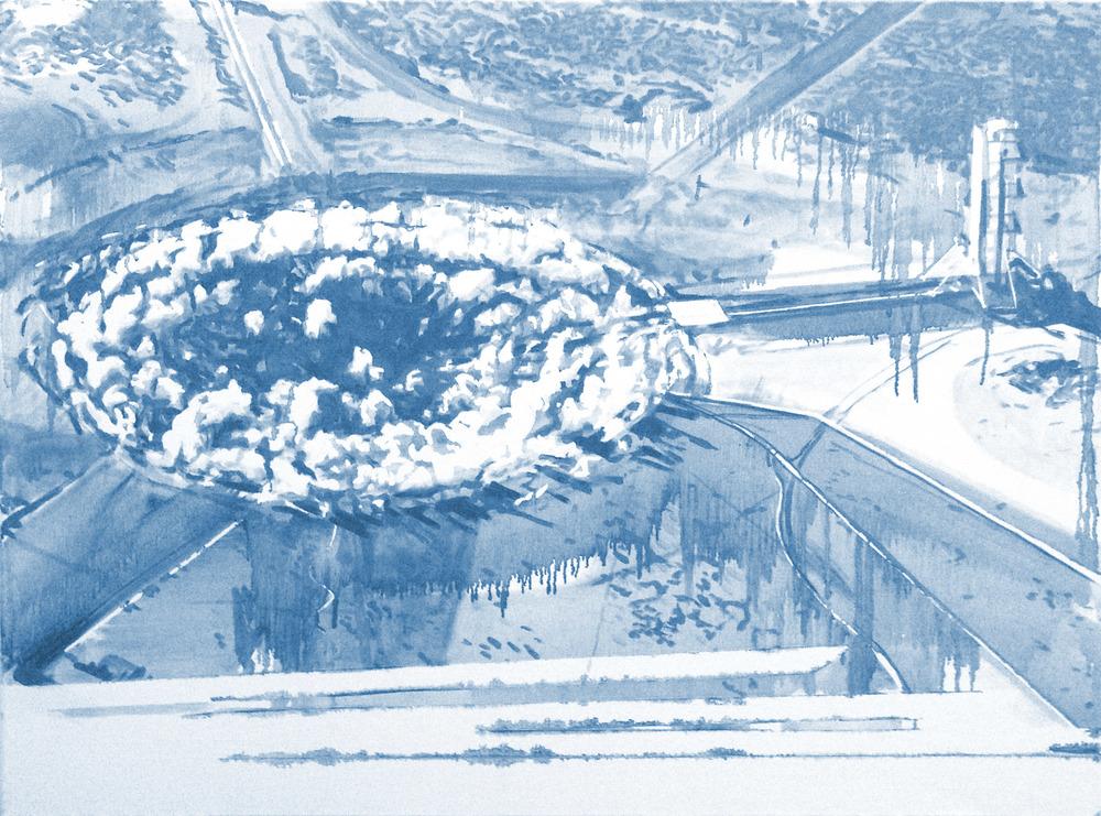 Underground Nuclear Test, Nevada