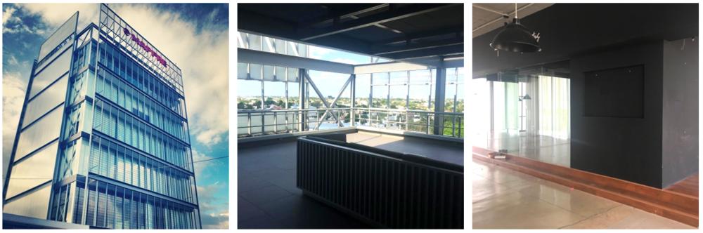 La oficina con la mejor vista.Cuarto piso de la Torre Mirador Montejo en Prolongación Montejo.
