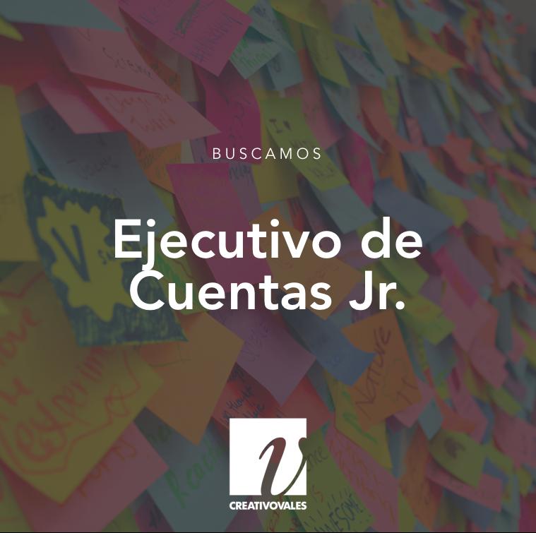 Ejecutivo de Cuentas Jr