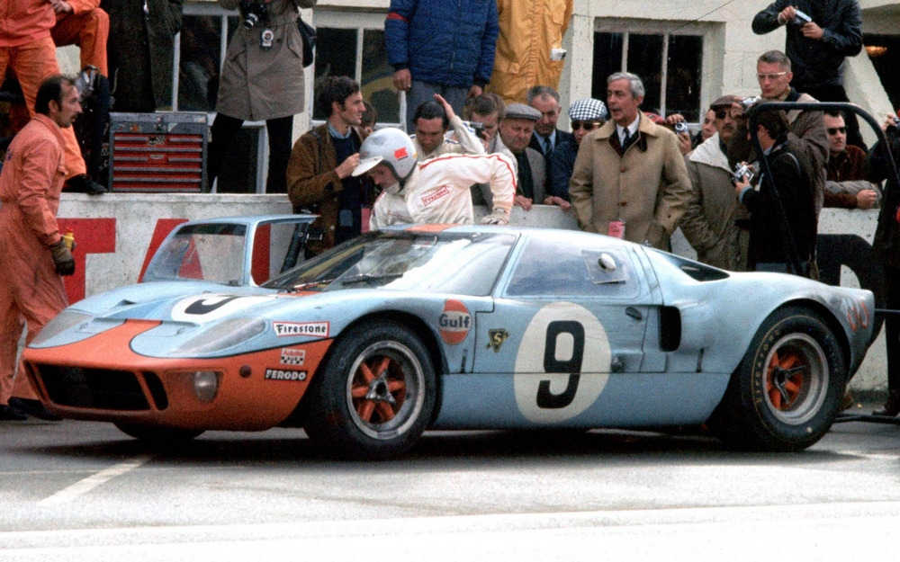 The first car to wear the prolific Gulf livery