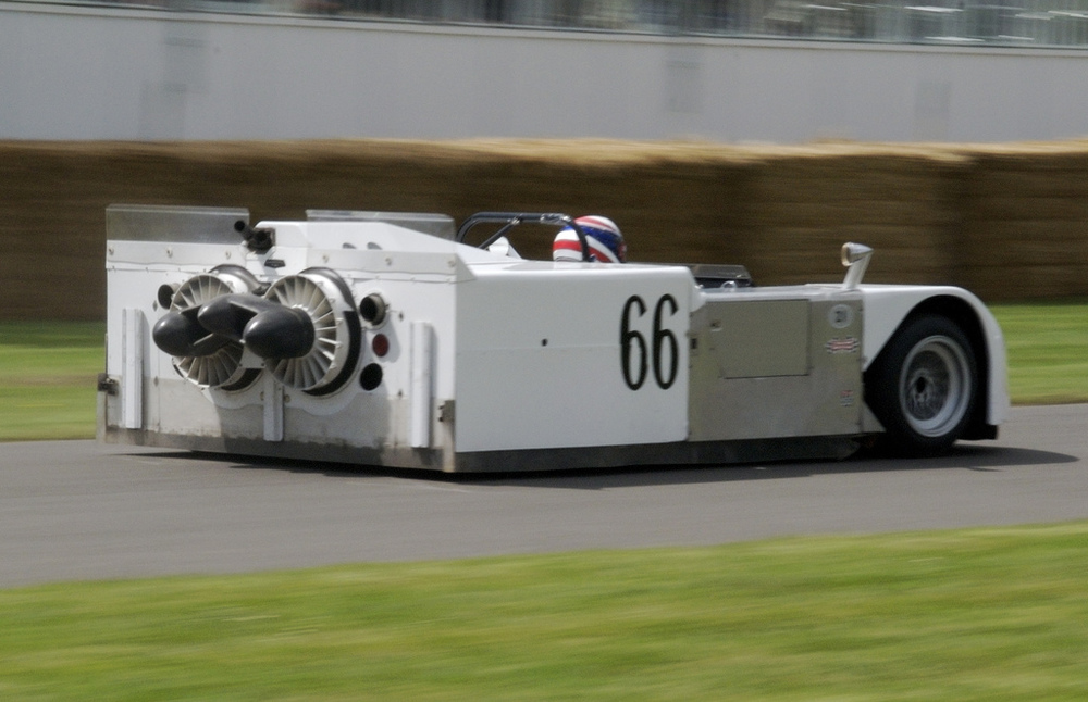 The Jim Hall-designed Chaparral 2J that inspired the Brabham