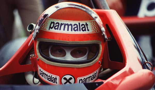 Niki Lauda driving the Brabham