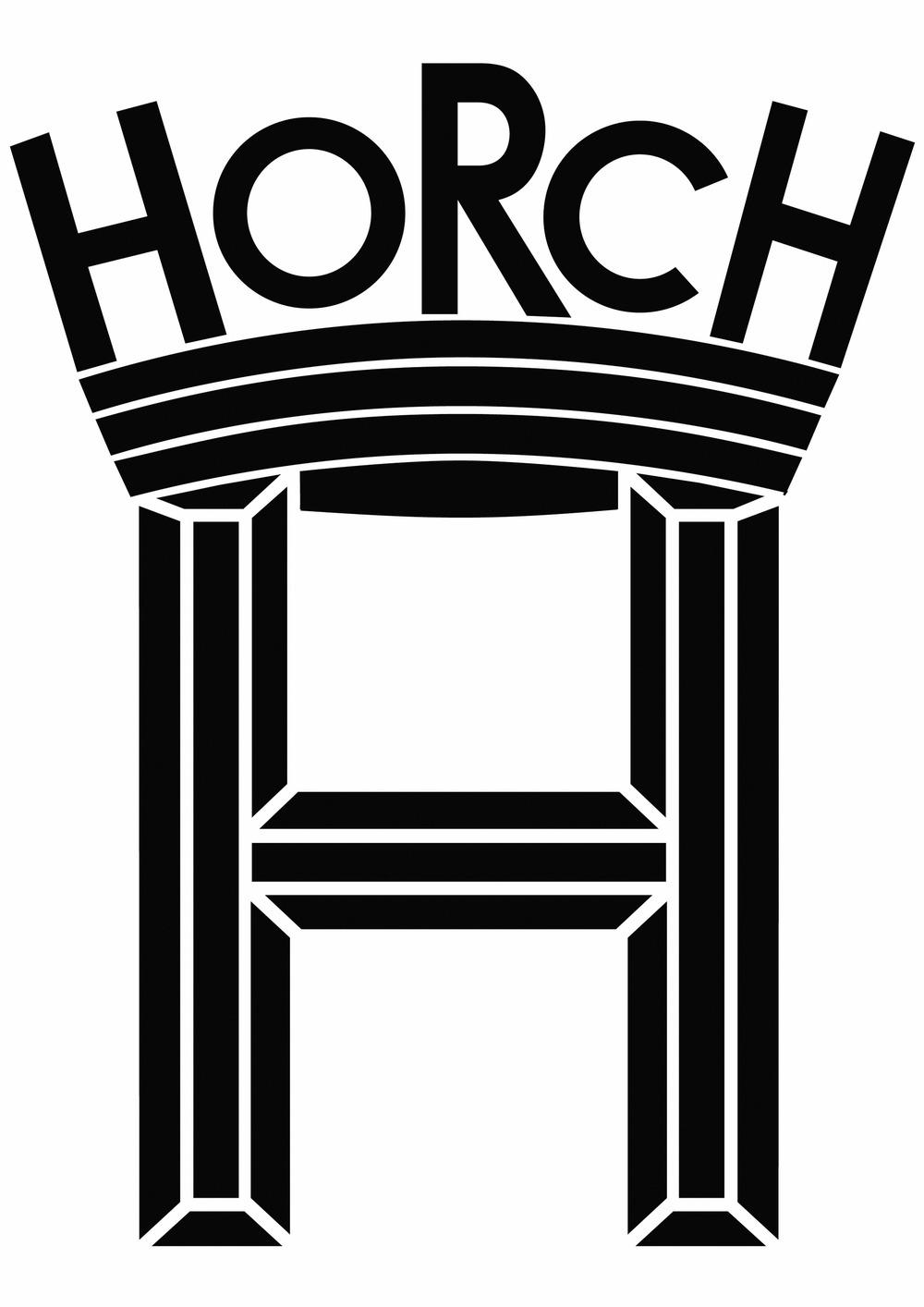 The Horch logo, circa 1899
