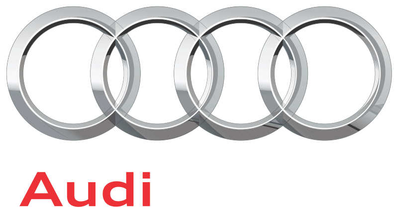 The 2008 (and current) Audi logo