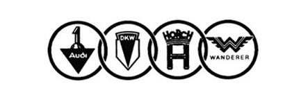 The original 1932 Auto Union logo