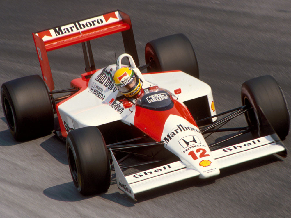 The incredibly successful McLaren MP4/4