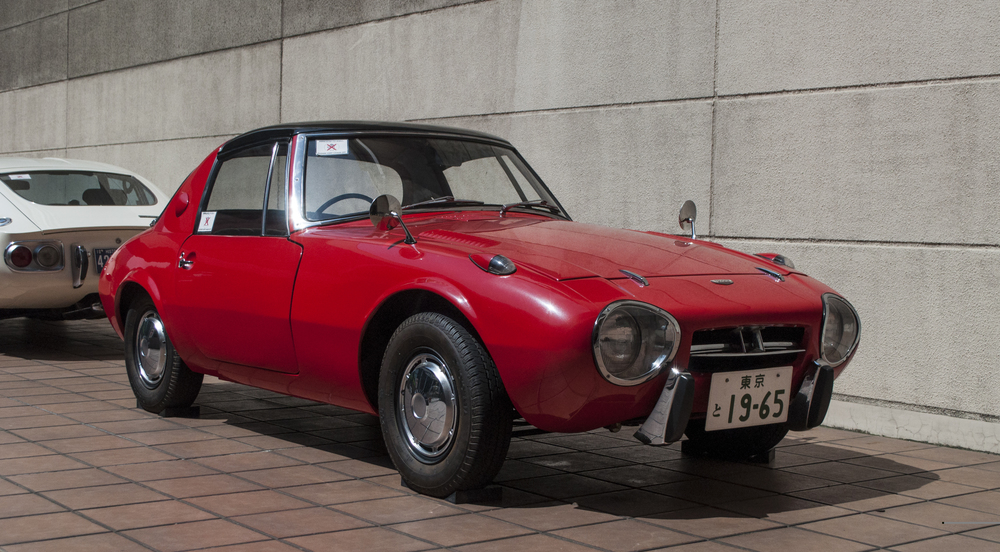 The production Toyota Sports 800