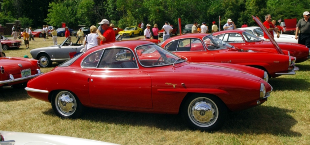 The 1958 Alfa Romeo Giulia Sprint Speciale