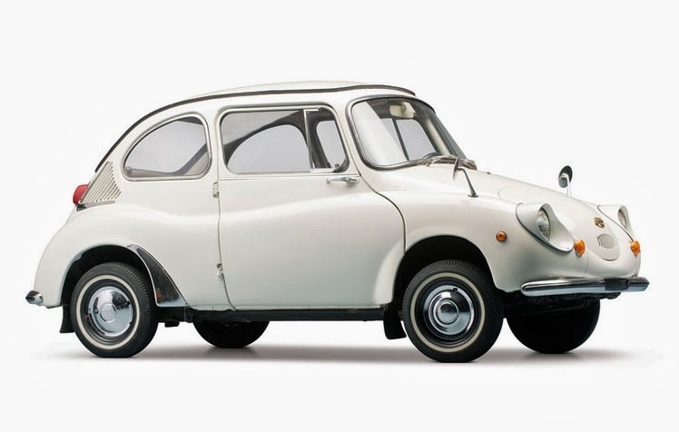 The unaltered Subaru 360