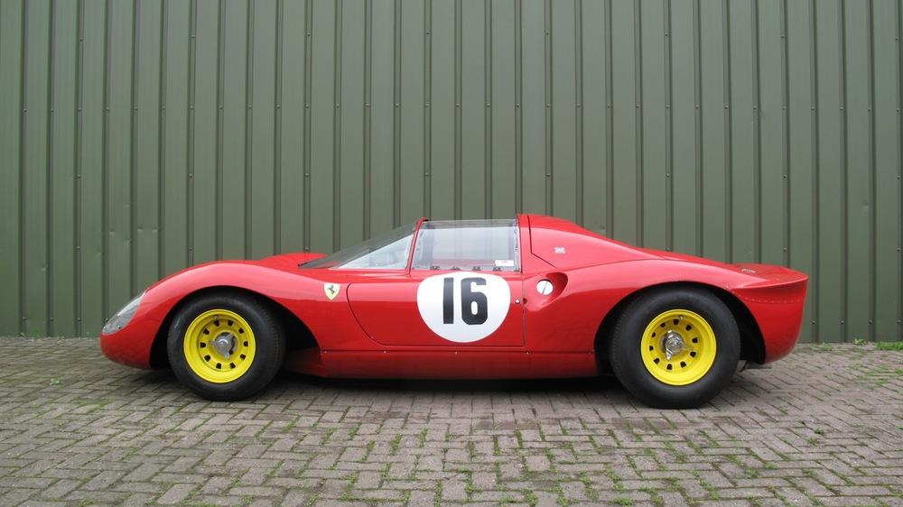 The 1967 Ferrari Dino 206 Competizione Prototipo 95 Customs