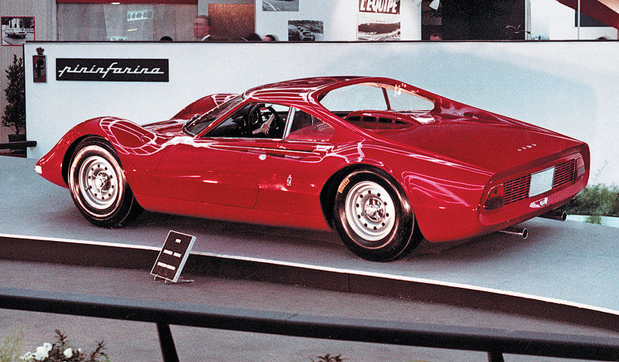 The 1965 Ferrari Dino Berlinetta Speciale
