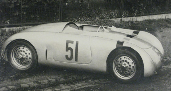 One of the Glockler Specials that inspired the layoutof the Porsche 550