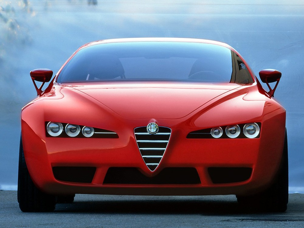The Alfa Romeo Brera Concept