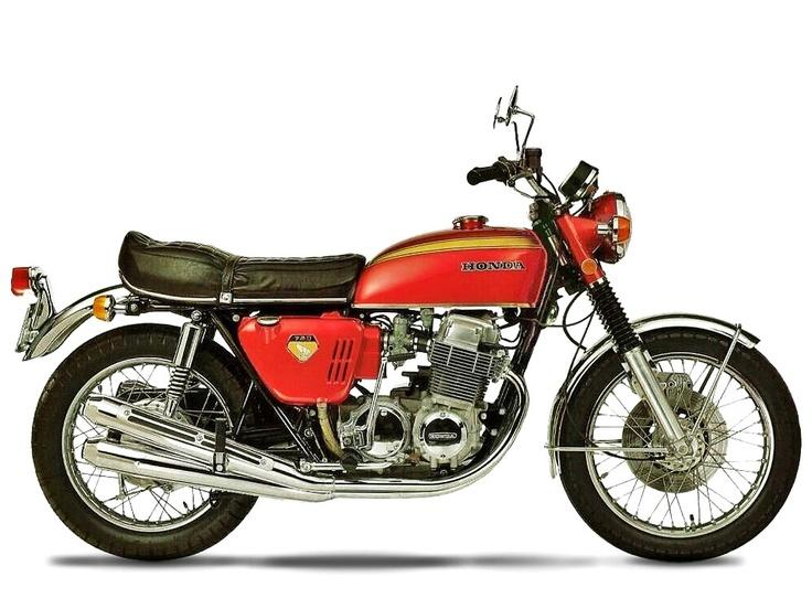 The 1969-78 Honda CB750 — 95 Customs