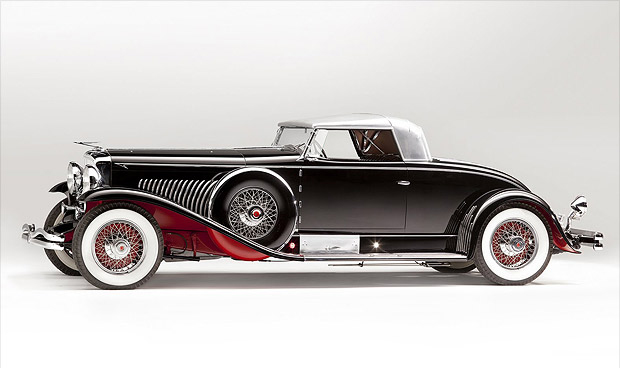 The Duesenberg Model J Coupe