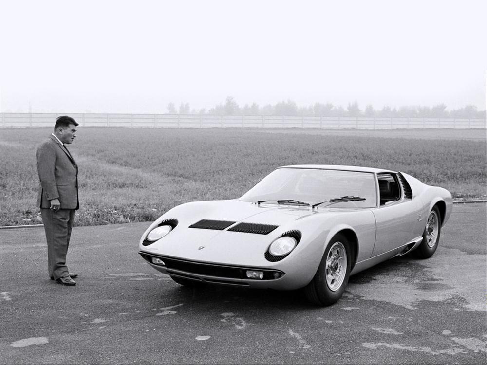 Ferruccio Lamborghini and the Miura