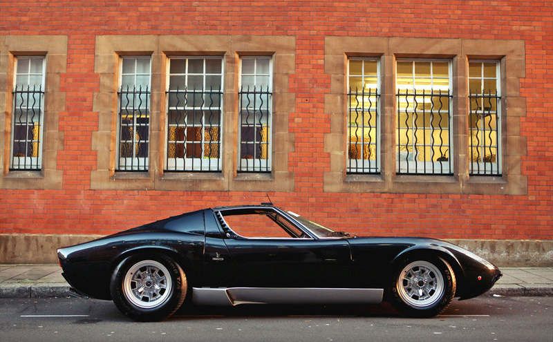 The 1966 73 Lamborghini Miura 95 Customs