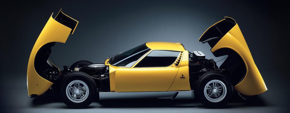 The 1966 73 Lamborghini Miura 95 Customs